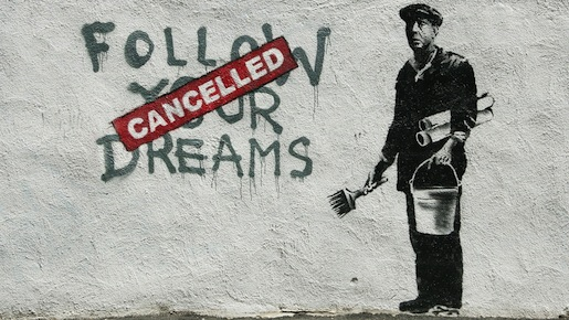 Banksy, kuva: Wikipedia