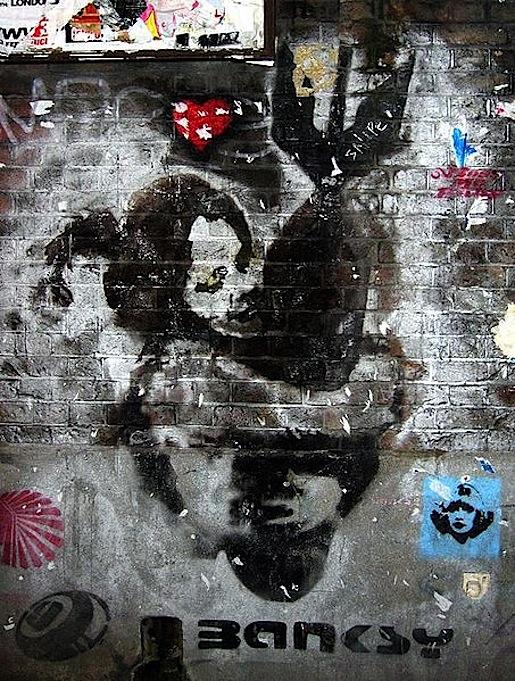 Banksy, kuva Wikipedia