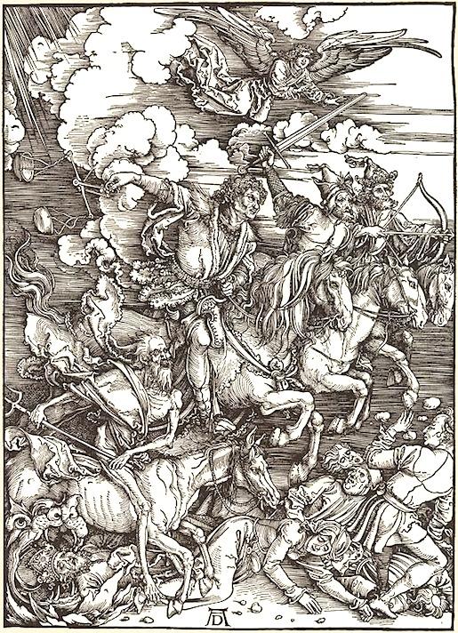 Albrecht Dürer: Die Apokalyptische Reiter (1497)