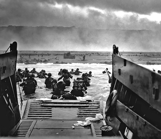 Omaha Beach, Normandia 6.6.1944