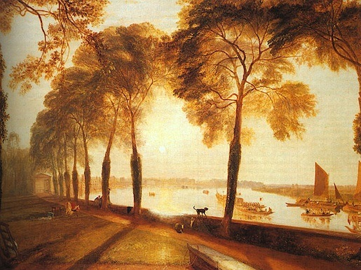 William Turner: Mortlake Terrace, 1826