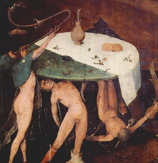 Hieronymus Bosh: The Temptation of St Anthony (detail)