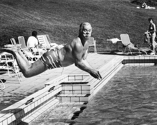 Simo Salminen 1985. Kuva: Iltalehden arkisto.