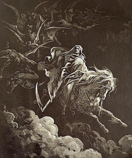 Gustave Doré, Raamatun kuvitus / Ilmestyskirja