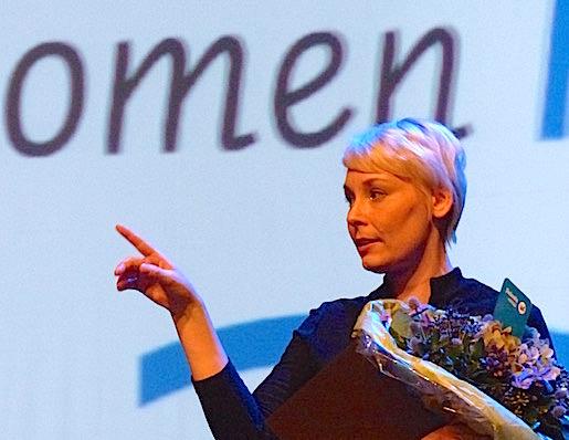 Finlandia Laura Lindstenille teoksesta Oneiron.