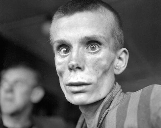 Dachau, huhtikuu 1945. AFP PHOTO / Eric Schwab