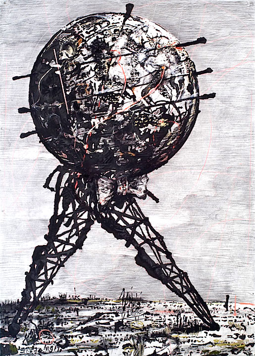 William Kentridge: World Walking, 2007