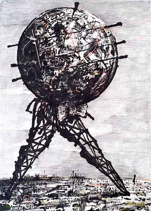 William Kentridge: World Walking, 2007