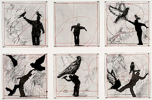 William Kentridge: Bird Catcher, 2006