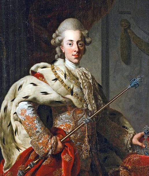 Kristian VII. Maalaus: Alexander Roslin 1772