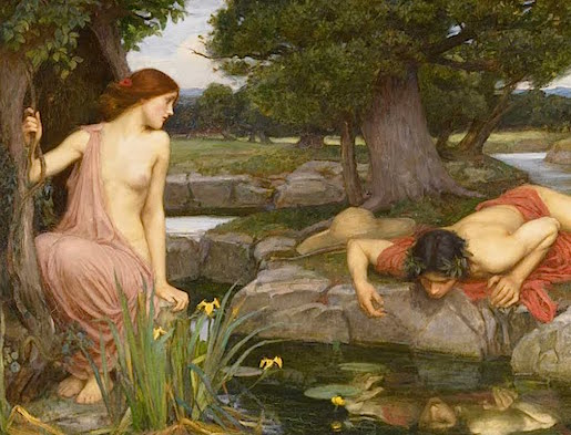 John William Waterhouse: Echo and Narcissus (1903)