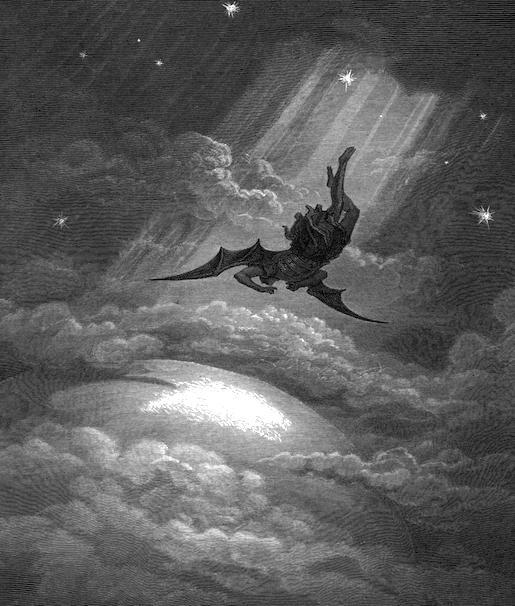 Gustave Doré: kuvitusta John Miltonin teokseen Kadotettu paratiisi
