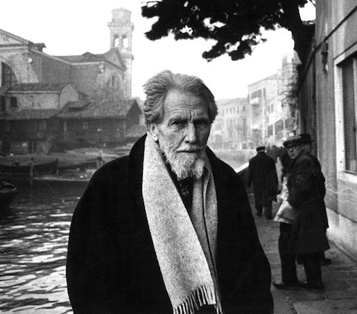 Gettyimages Mondadori Portfolio: Ezra Pound, Venetsia 1963
