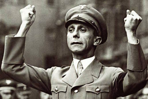 Joseph Goebbels, kuva timeshighereeducation/Getty