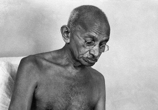 Mahatma Gandhi, kuva: www.30-30.com.mx
