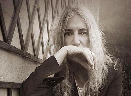 Patti Smith, kuva Helsingin Sanomat / Nyt -liite 26.4.16